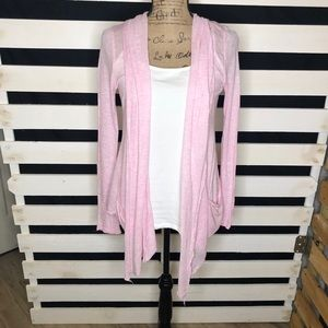 Ambiance Apparel Baby Pink Shrug/Sweater